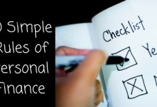 10 Simple Rules Of Personal Finance
