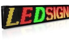 Different types of LED signs: Which one is the best?